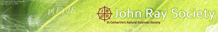 John Ray Society Banner
